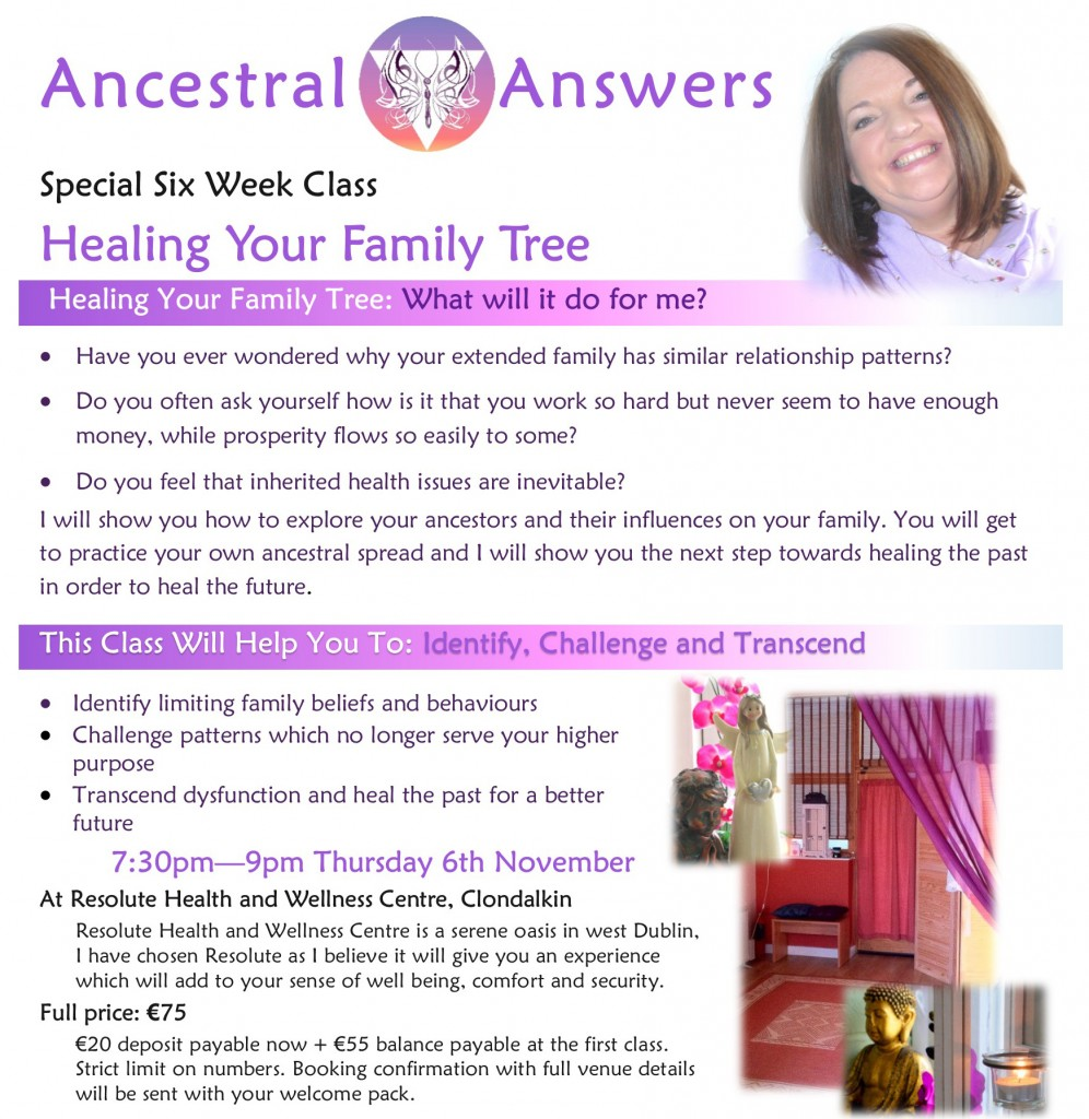 6 Week Ancestral Answers Course Event